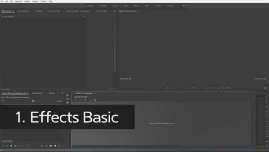 Adobe 프리미어 프로 CC 2018, 2019 영상편집의 입문 Part.2