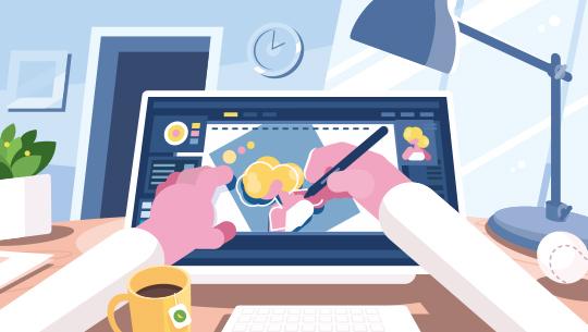 왕초보를 위한 Illustrator CC 2020