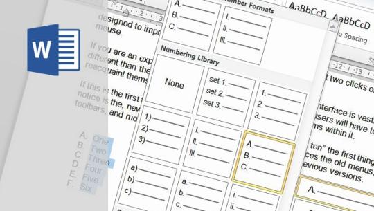 MOS Word 2013 Expert Part.2 자격증 따기