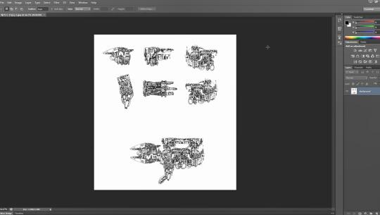 누구나 쉽게 만들수 있는 게임 그래픽 제작 (2D슈팅게임) Part.3