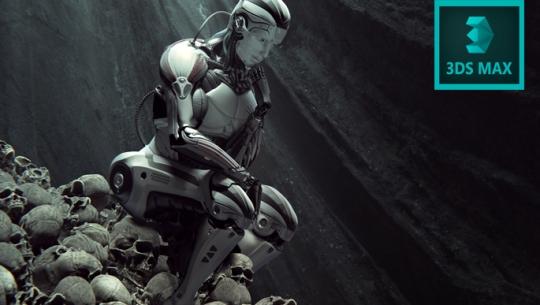 3D MAX를 활용한 게임 여자 캐릭터 맵핑 과 스킨