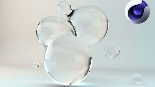 MAXON CINEMA(시네마) 4D 라이팅 렌더링의 입문 (시네마4D)